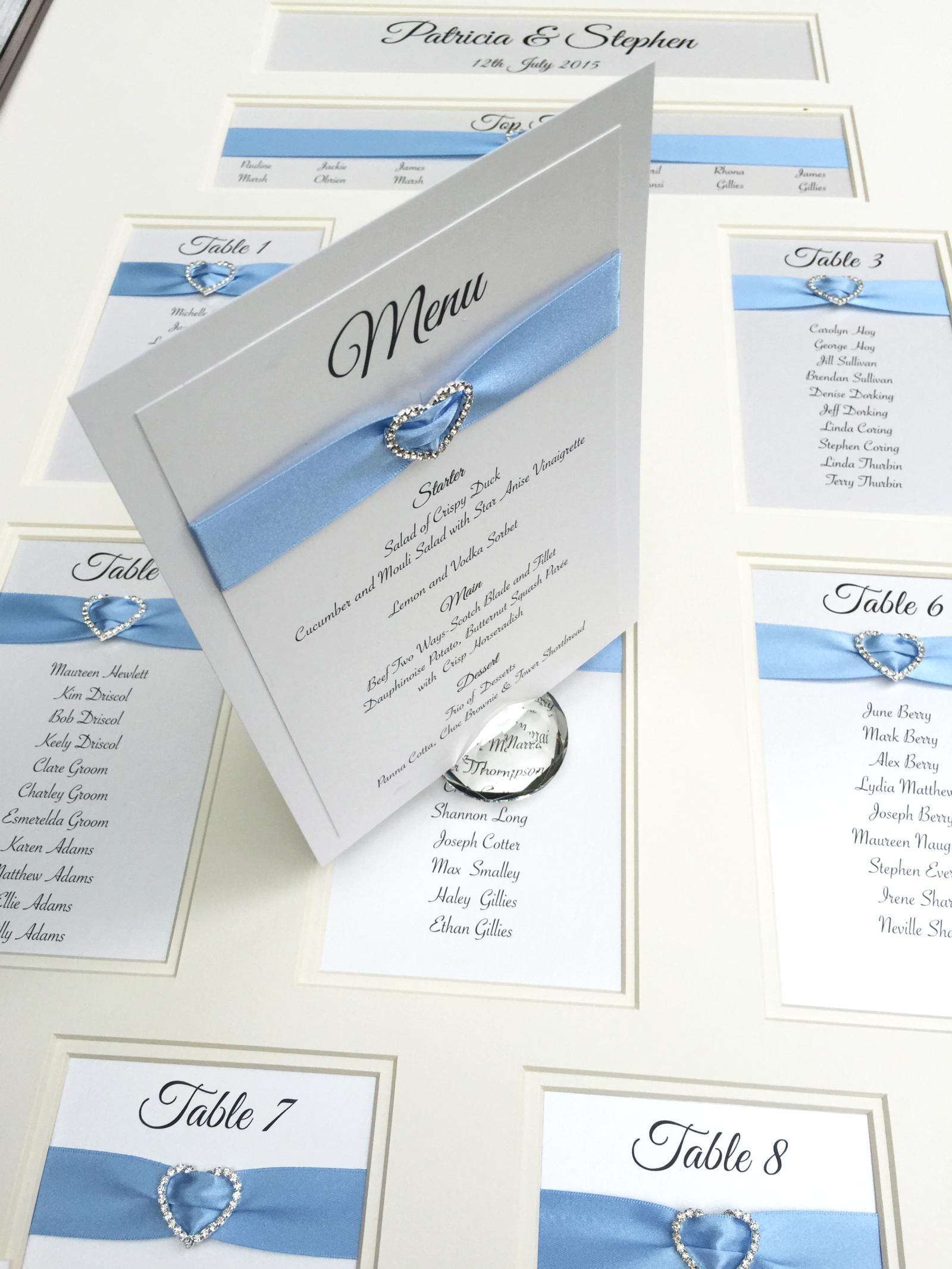 ornate_framed_table_plan_cornflower_blue_heart.jpg